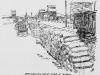 Warren, Minnesota Grain Sacks by Railroad