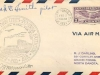 First Air Mail Cachet Front View, Grand Forks, Signed by Pilot & Postmaster