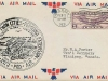First Air Mail Cachet Front View, Fargo