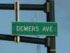 Frank S. DeMers Street Sign
