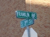 Frank Viets Franklin Street Sign Grand Forks