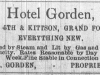 Gorden Hotel Advertisement