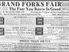 Grand Forks 1912 Fair Ad