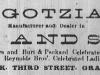 Henry C. Gotzian Advertisement