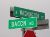 Jeremiah D. Bacon Road Sign