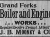 John B. Mooney Advertisement
