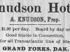 Knudson House Advertisement