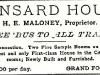 Mansard House Advertisement