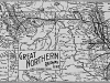 Great Northern Railroad Transcontinental View