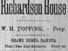 Richardson House Advertisement