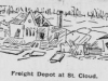 Saint Cloud Freight Depot Sketch