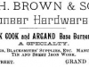 William H. Brown Advertisement