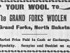 Woolen Mills Advertisement