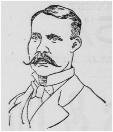Saint Paul Signal Service Chief, P.F. Lyons, 1886