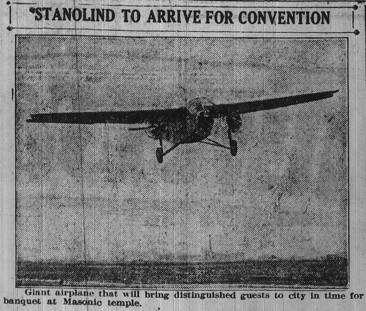 Fokker Tri-motor Airplane