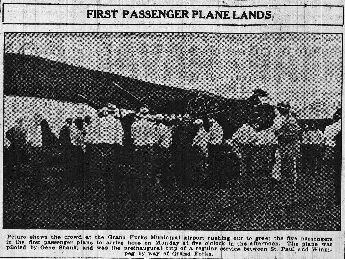 First Commercial Passenger Plane